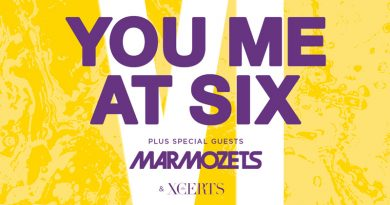 You Me At Six @ O2 Academy Brixton on Fri November 30th